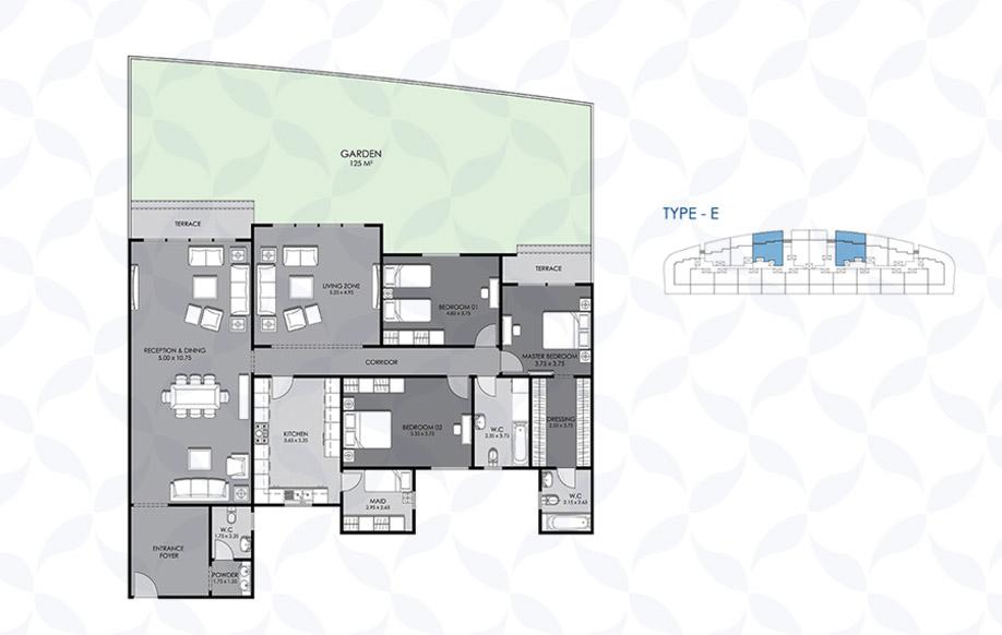 Ground Floor - Type - E VIII