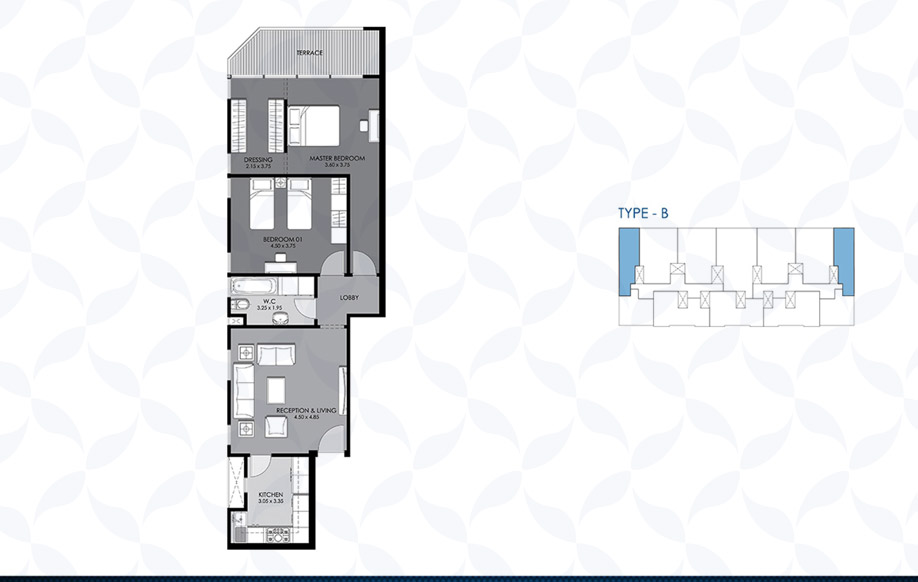 Typical Floor - Type - B II