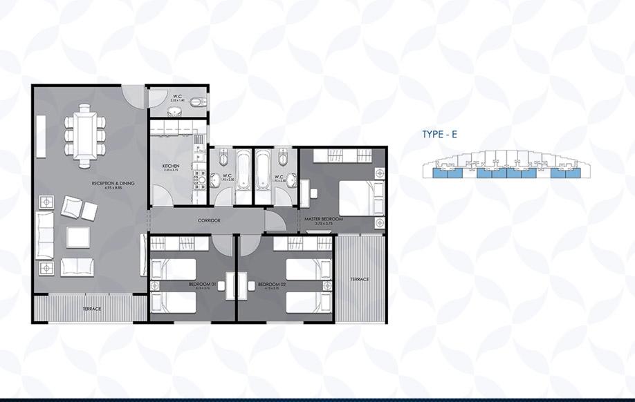 Typical Floor - Type - E