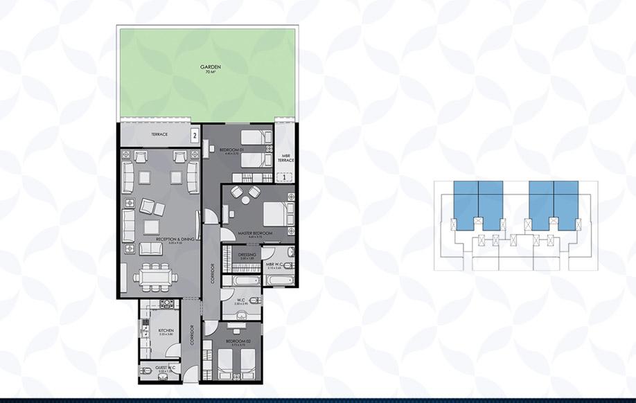 Ground Floor - Type - A & B II