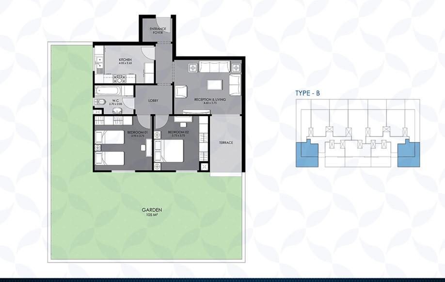 Ground Floor - Type - B