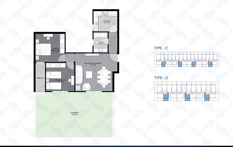 Ground Floor - Type - C & D