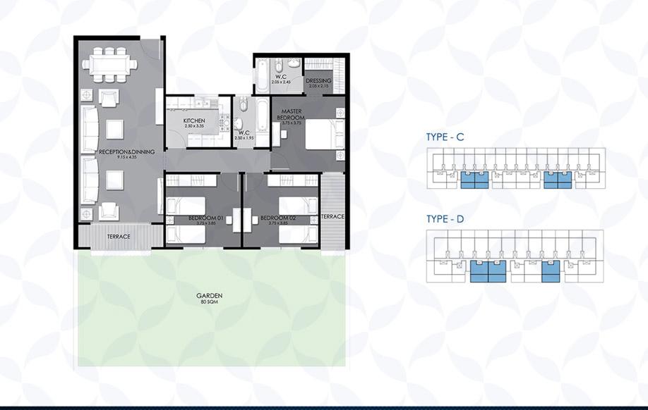 Ground Floor - Type - C & D II