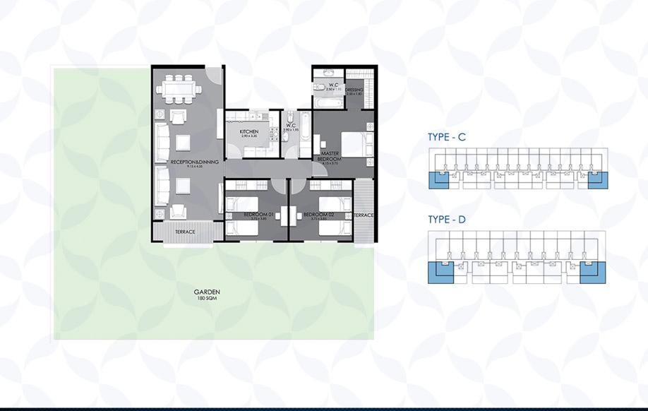 Ground Floor - Type - C & D IV
