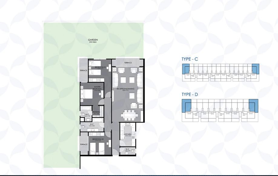 Ground Floor - Type - C & D VIII