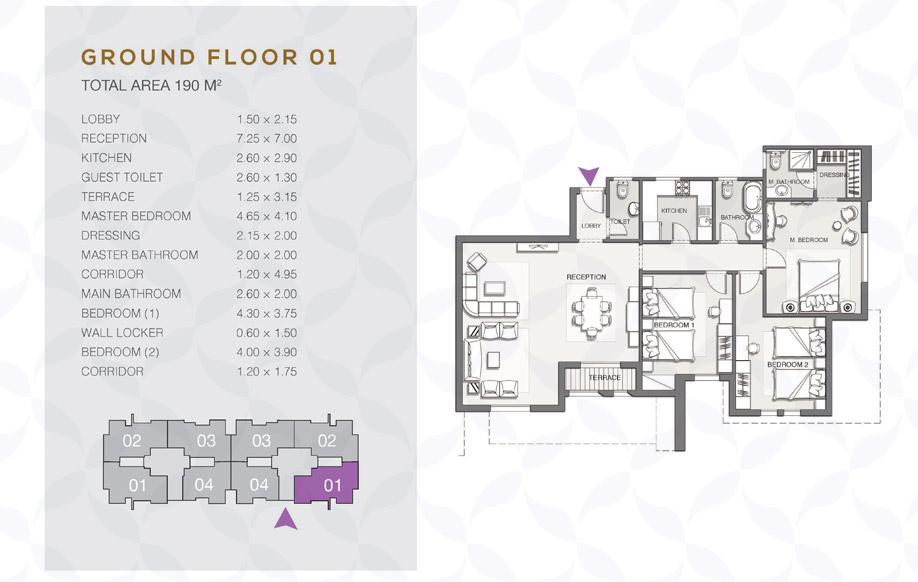 Type B - Ground Floor - 01