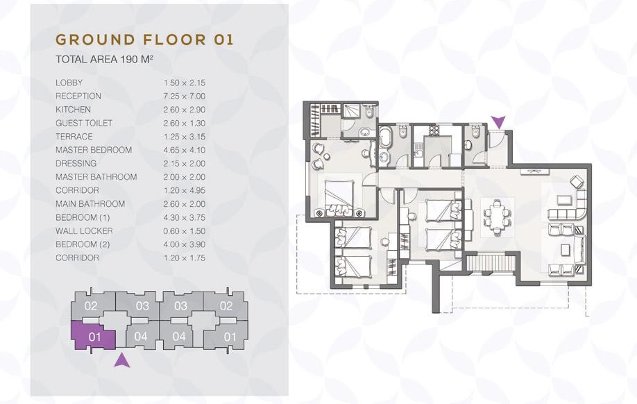 Type B - Ground Floor - 01 II