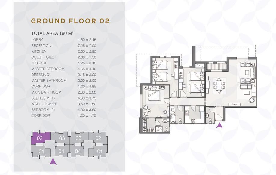Type B - Ground Floor - 02 II