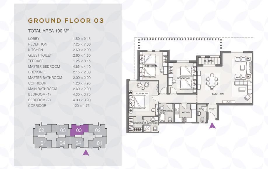 Type B - Ground Floor - 03