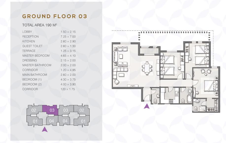 Type B - Ground Floor - 03 II