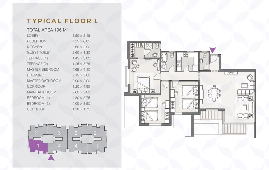 Type B - Typical Floor - 01 II