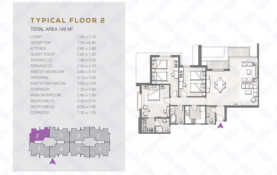 Type B - Typical Floor - 02 II