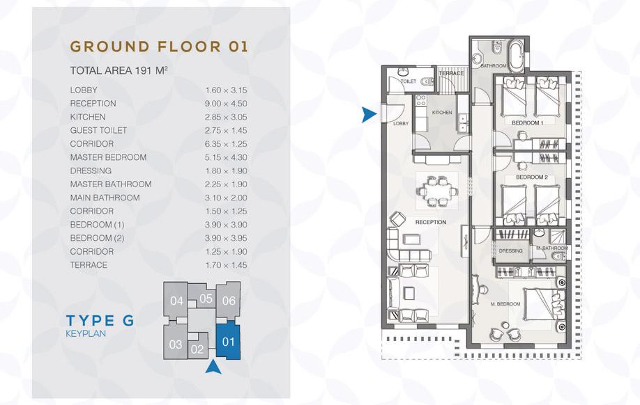 Type G - Ground Floor - 01