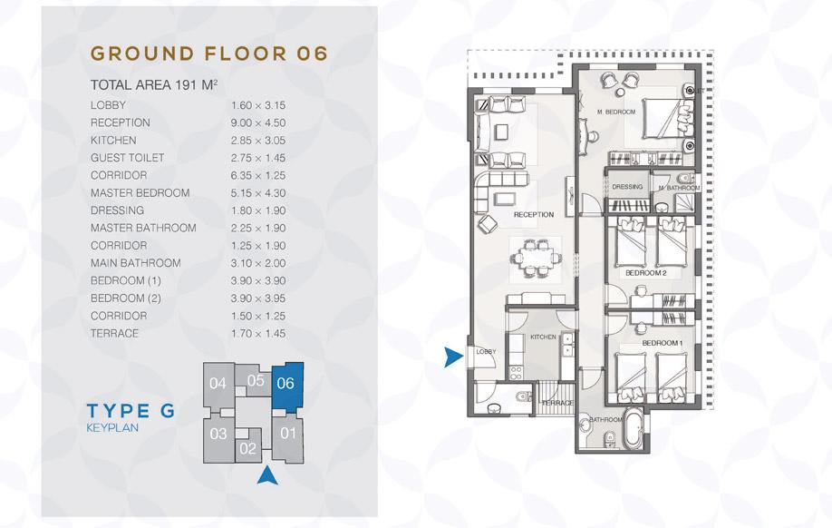 Type G - Ground Floor - 06