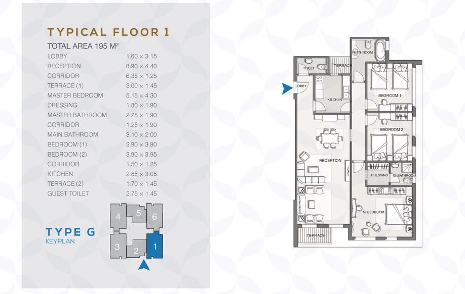 Type G - Typical Floor - 01