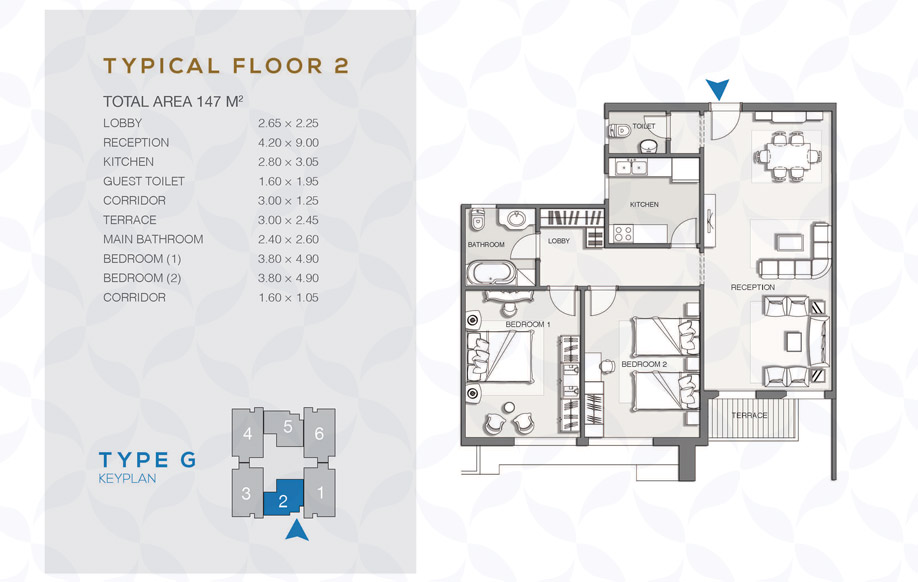 Type G - Typical Floor - 02
