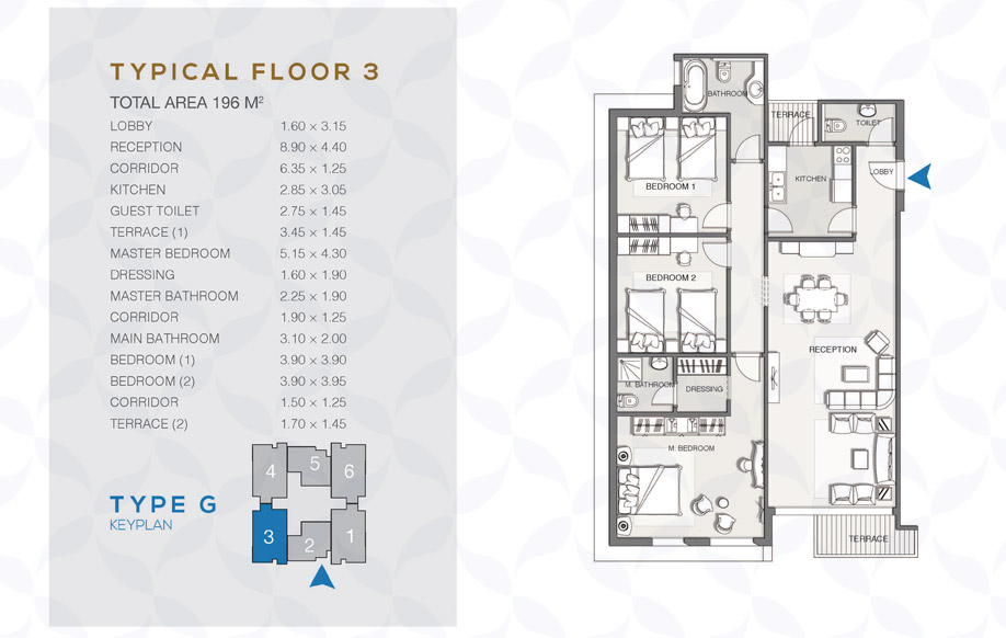 Type G - Typical Floor - 03
