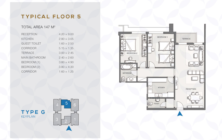 Type G - Typical Floor - 05