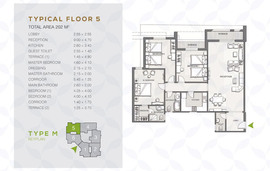 Type M - Typical Floor - 01