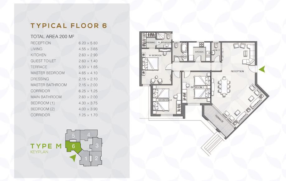 Type M - Typical Floor - 06