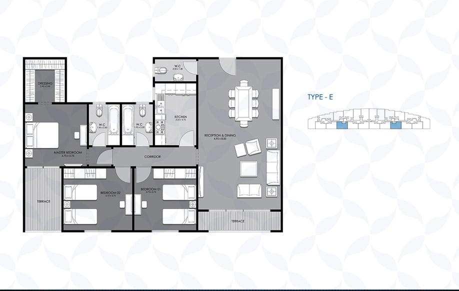 Typical Floor - Type - E II