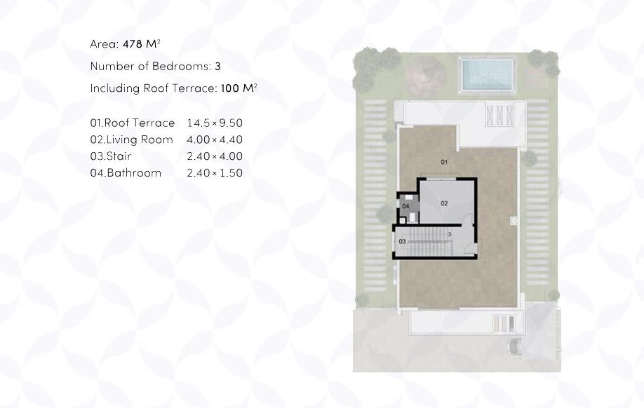 Villa 'B' - Penthouse