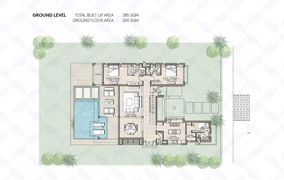 Coast 82 Medium Villa Ground Floor
