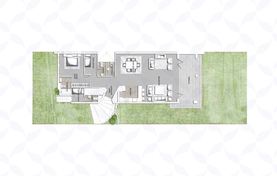 Jefaira Twin House Type 1 Ground Floor