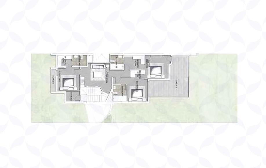 Jefaira Twin House Type 1 First Floor