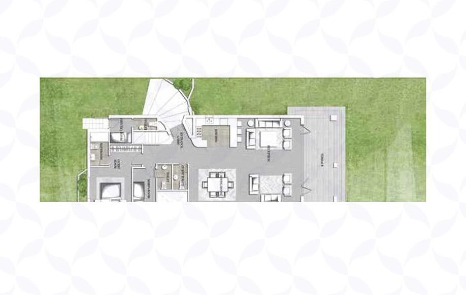 Jefaira Twin House Type 2 Ground Floor
