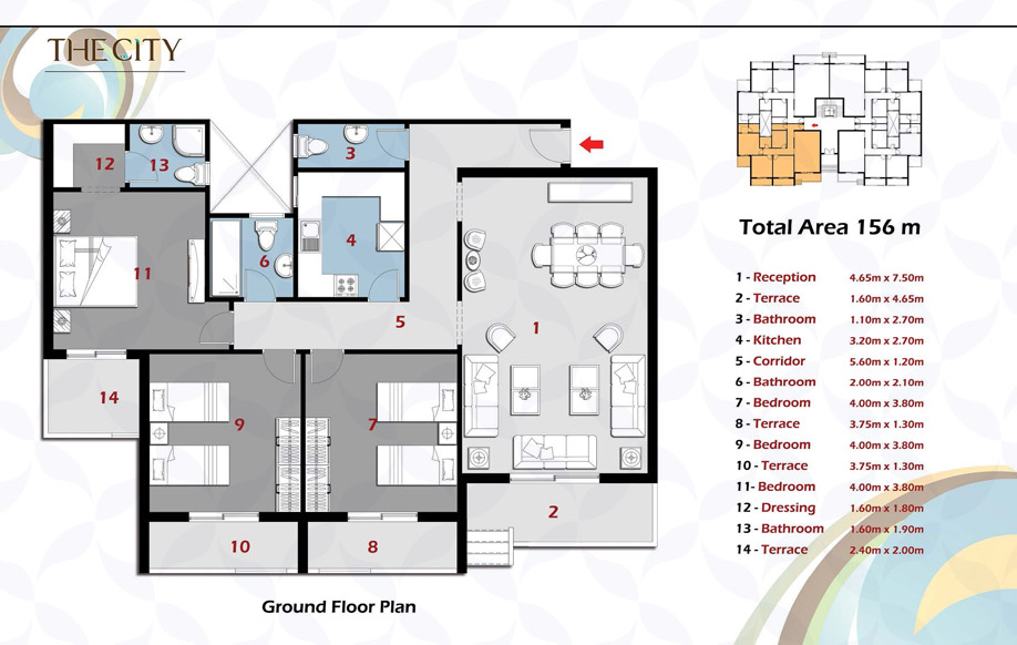 Building B - Apartment A Ground Floor