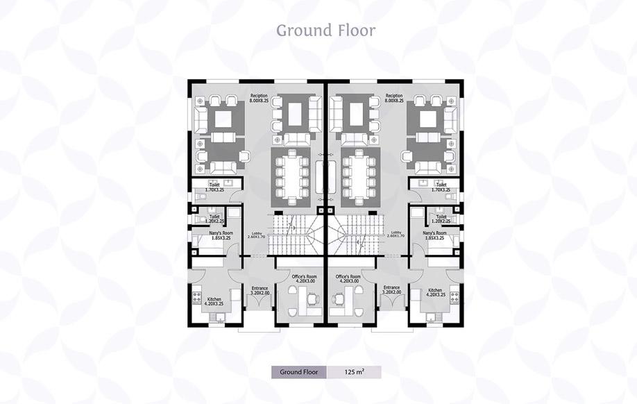 Azzar Twin House B Ground Floor