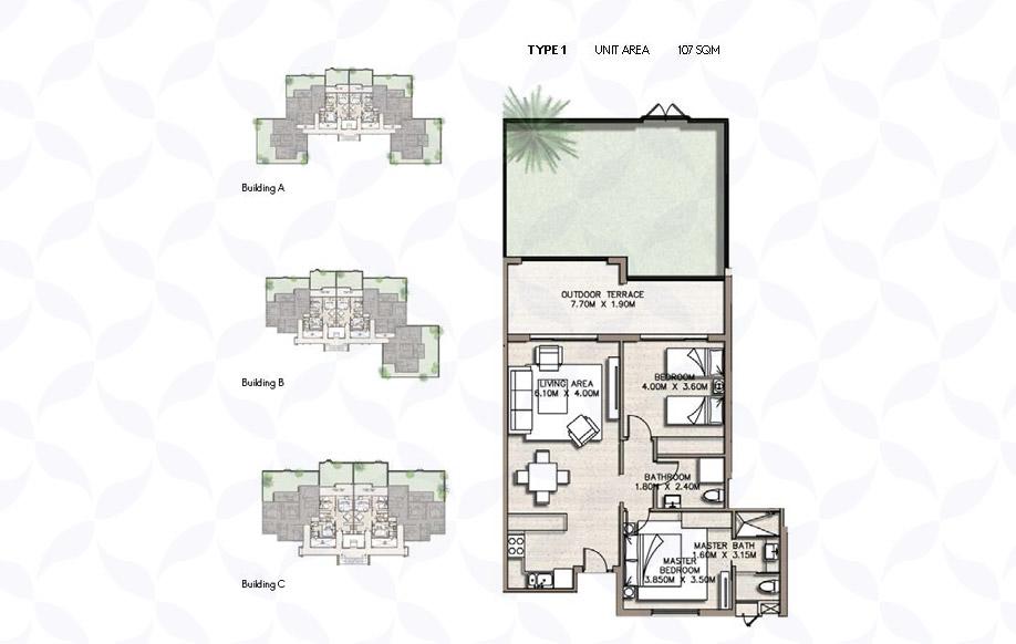 Coast 82 Apartment Types 1