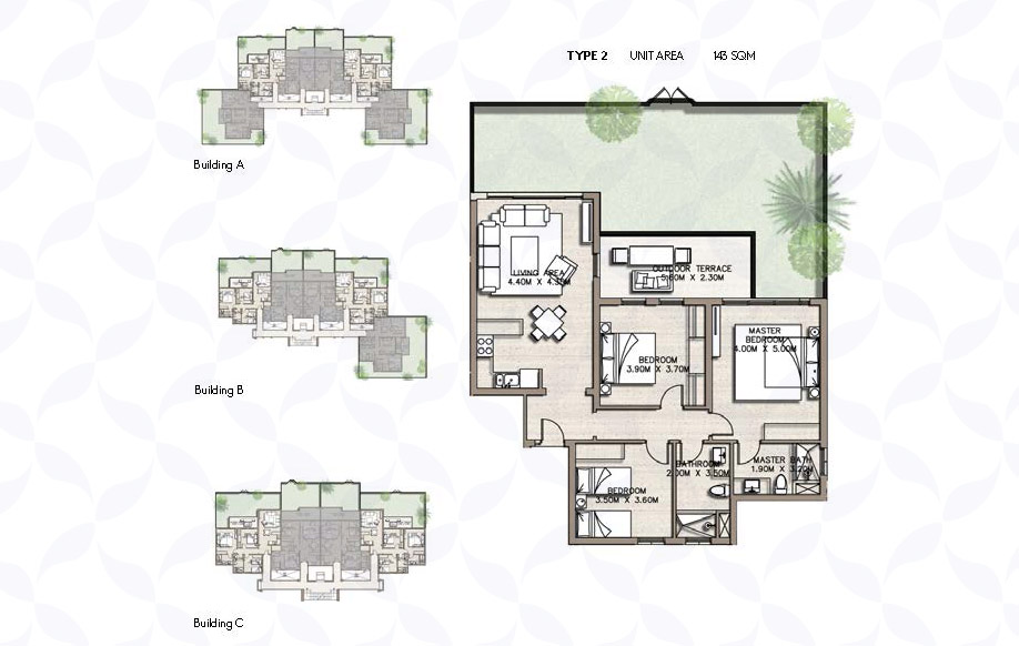 Coast 82 Apartment Types 2